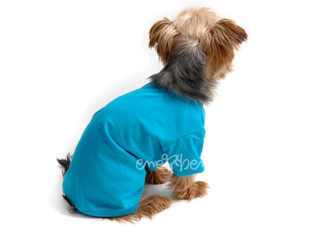 Ene Bene obleček - tričko pro psa tyrkysové XS