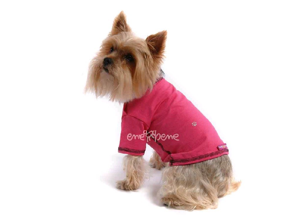 Ene Bene obleček - tričko pro psa růžové XS