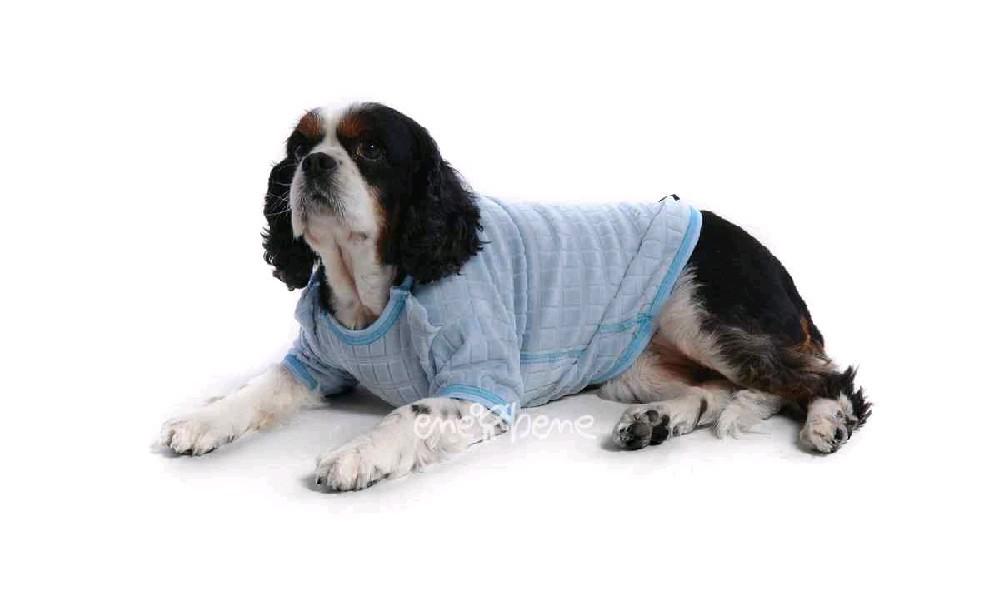 Ene Bene obleček - tričko pro psa světle modré XS
