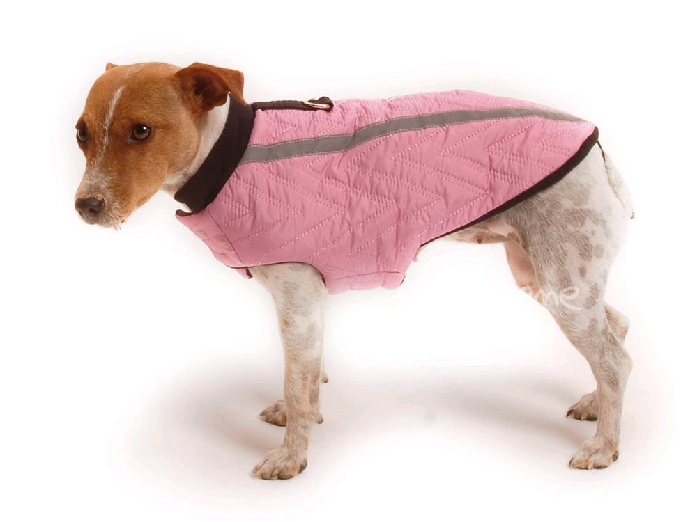 Ene Bene obleček vesta pro psa Bety růžová XS