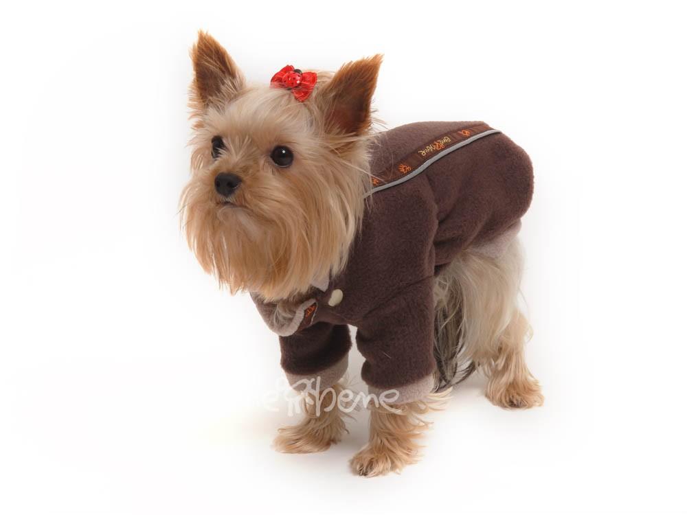 Ene Bene obleček - mikina pro psa Zonny hnědá XS