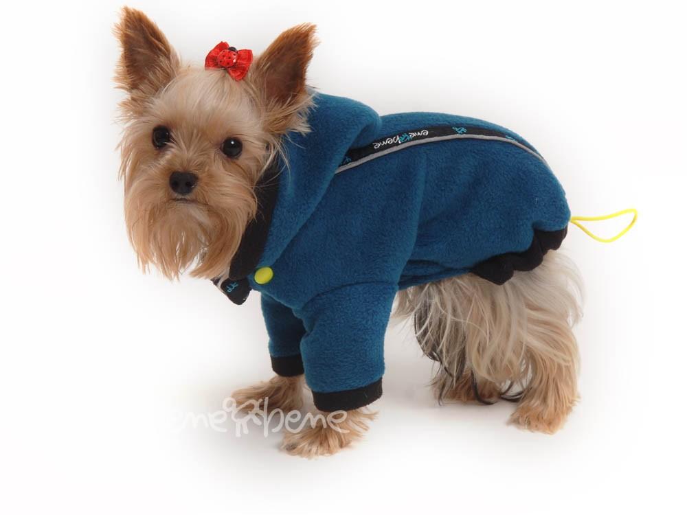 Ene Bene obleček - mikina pro psa Zonny modro černá XS