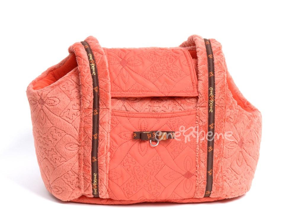Ene Bene taška pro psa oranžová XS
