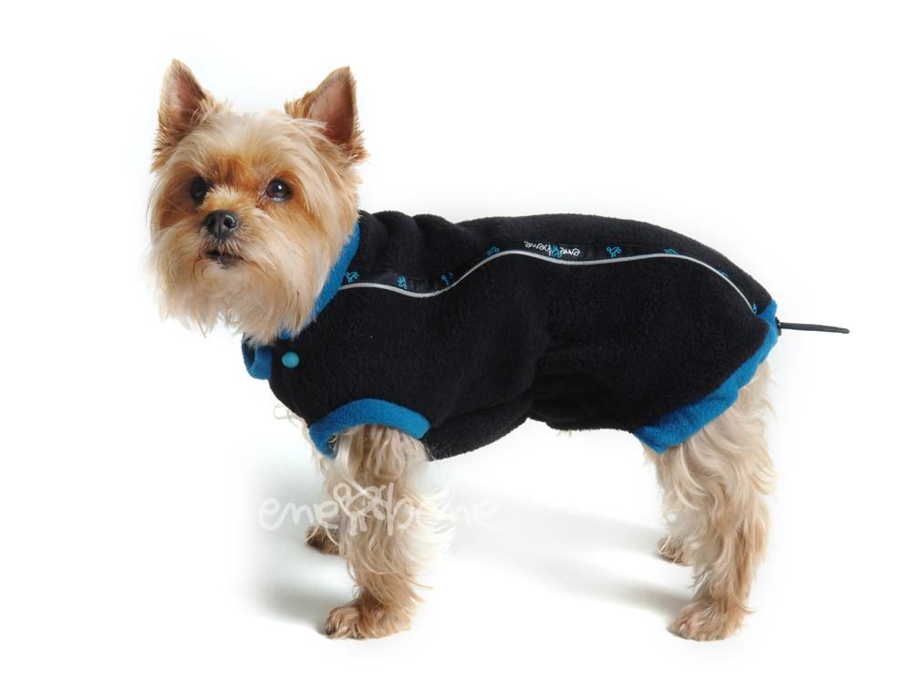 Ene Bene obleček - mikina pro psa Danny černo - modrá XS