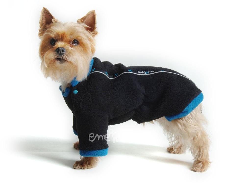 Ene Bene obleček - mikina pro psa Zonny černo modrá XS