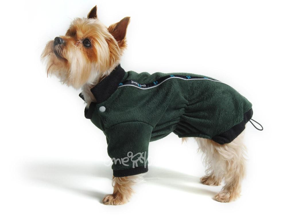 Ene Bene obleček - mikina pro psa Zonny zeleno černá S