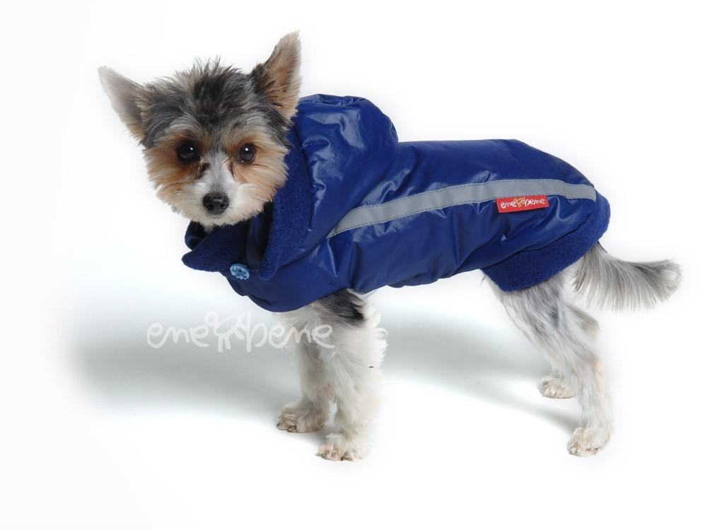 Ene Bene obleček - bunda pro psa Betynka modrá XS