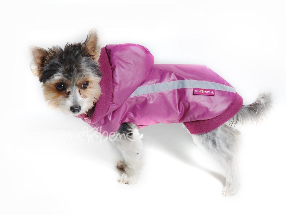 Ene Bene obleček - bunda pro psa Betynka růžovofialková XS