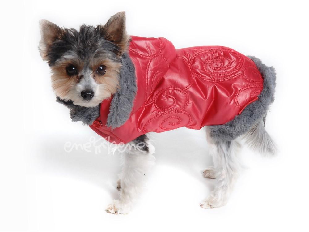 Ene Bene obleček - bunda pro psa Betynka červená XS