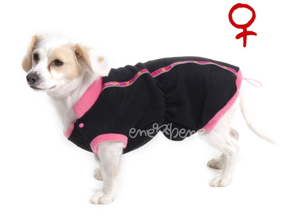 Ene Bene obleček - mikina pro psa Danny černo růžová - fenka XS