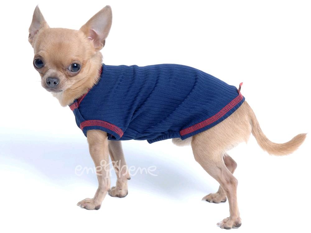 Ene Bene obleček pro psa - termotílko modré XS