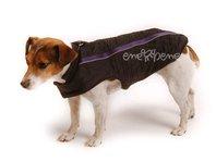 Obleček vesta pro psa Bety černo fialová