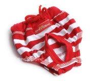 Hárací kalhotky Wendy červenobílé se šňůrkou