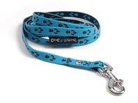 Vodítko pro štěně modrá tlapka š. 1cm