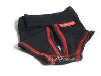 Hárací kalhotky Ajla černé, suchý zip