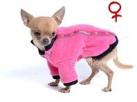 Obleček - mikina pro psy Zonny růžová - fenka