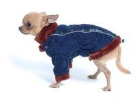 Obleček - mikina pro psy Zonny modrohnědá
