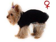 Obleček - svetr pro psa Sofi černý - fenka