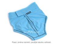 Hárací kalhotky Ajla světlemodré - suchý zip, větší