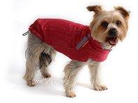 Obleček - pláštěnka pro psa Lea malinová