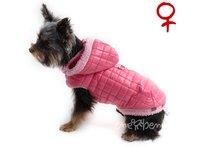 Bunda pro psa Bela  růžová -  fenka