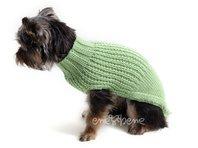 Obleček - svetr pro psa Míša zelený