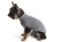 Obleček - svetr pro psa Míša šedý