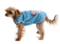Obleček - tílko pro psa modrošedé
