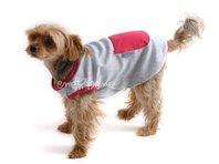 Obleček - tílko pro psa šedorůžové