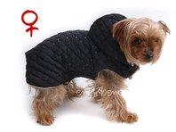 Bunda pro psa Mia  černo béžová - fenka