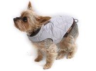 Obleček - vesta pro štěně Glori světle šedá
